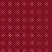 Makower UK - Super Bloom - 7129 - Poppy Seed Spots on Red Background - 9464E - Cotton Fabric